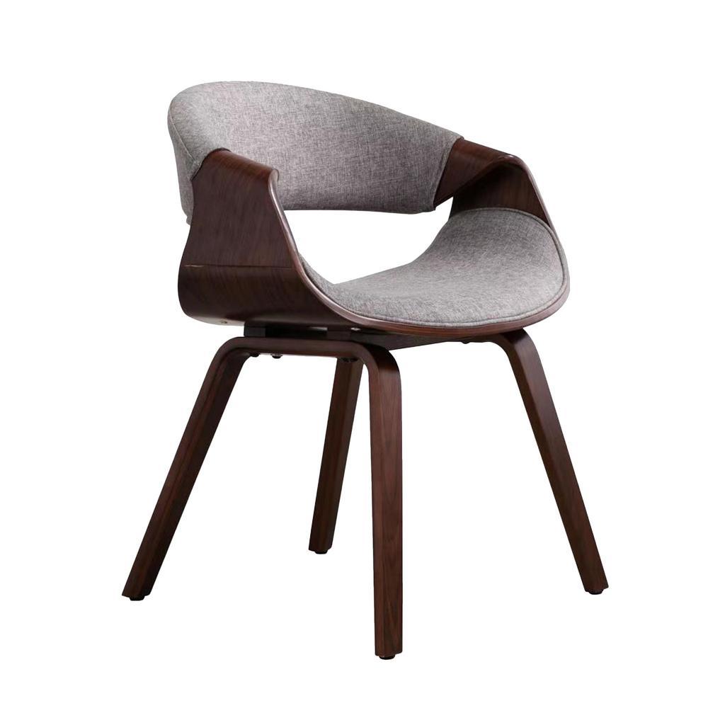 Ravenna Grey Upholstred Lounge Chair