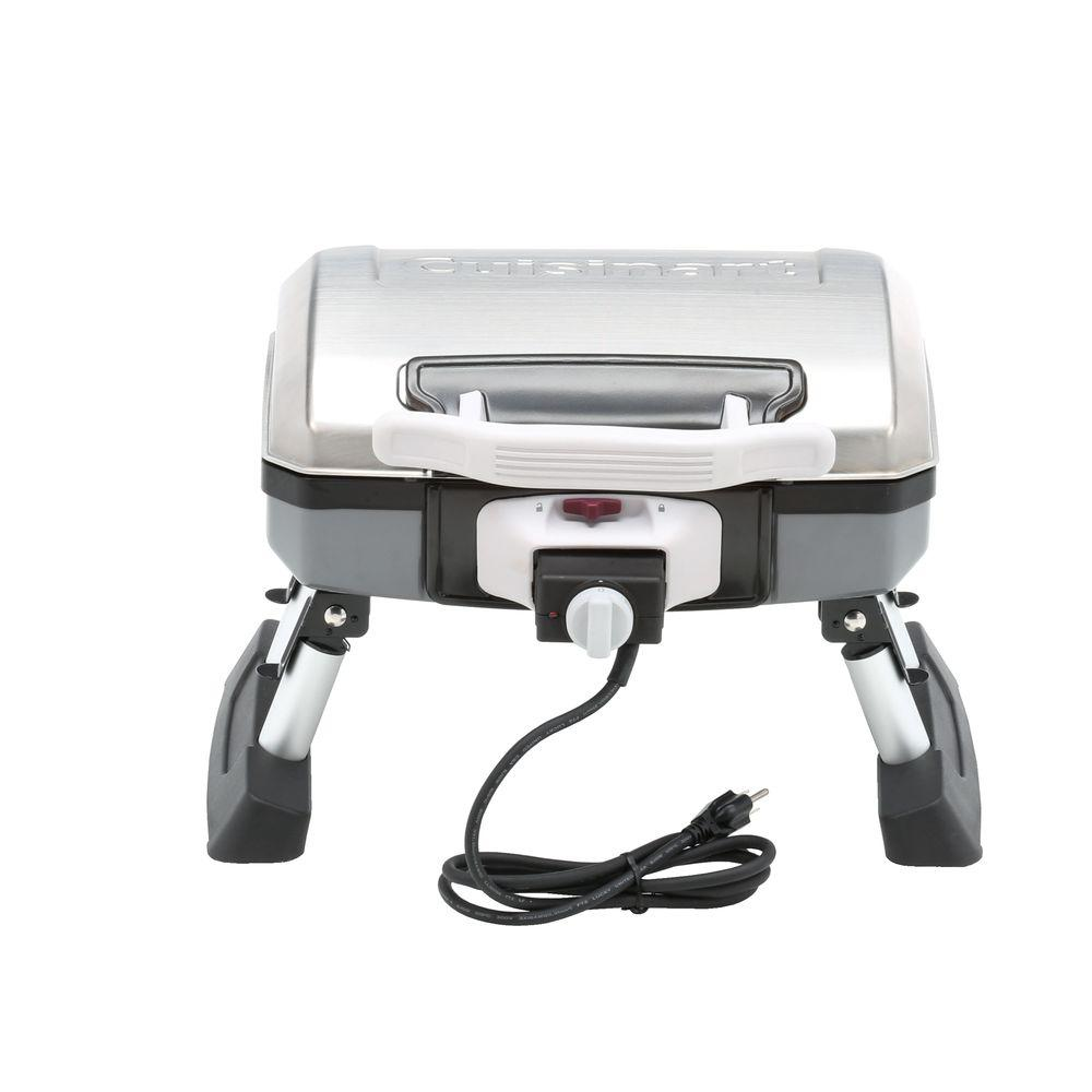 Best Electric Grills Outdoor ~ Cuisinart outdoor portable tabletop electric grill ceg