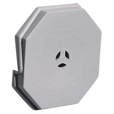 6.625 in. x 6.625 in. #016 Gray Surface Mounting Block