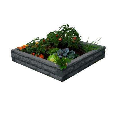 Dark Granite Raised Garden Bed