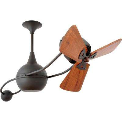 Brisa 2000 40 in. Indoor Bronze Ceiling Fan with Wall Control