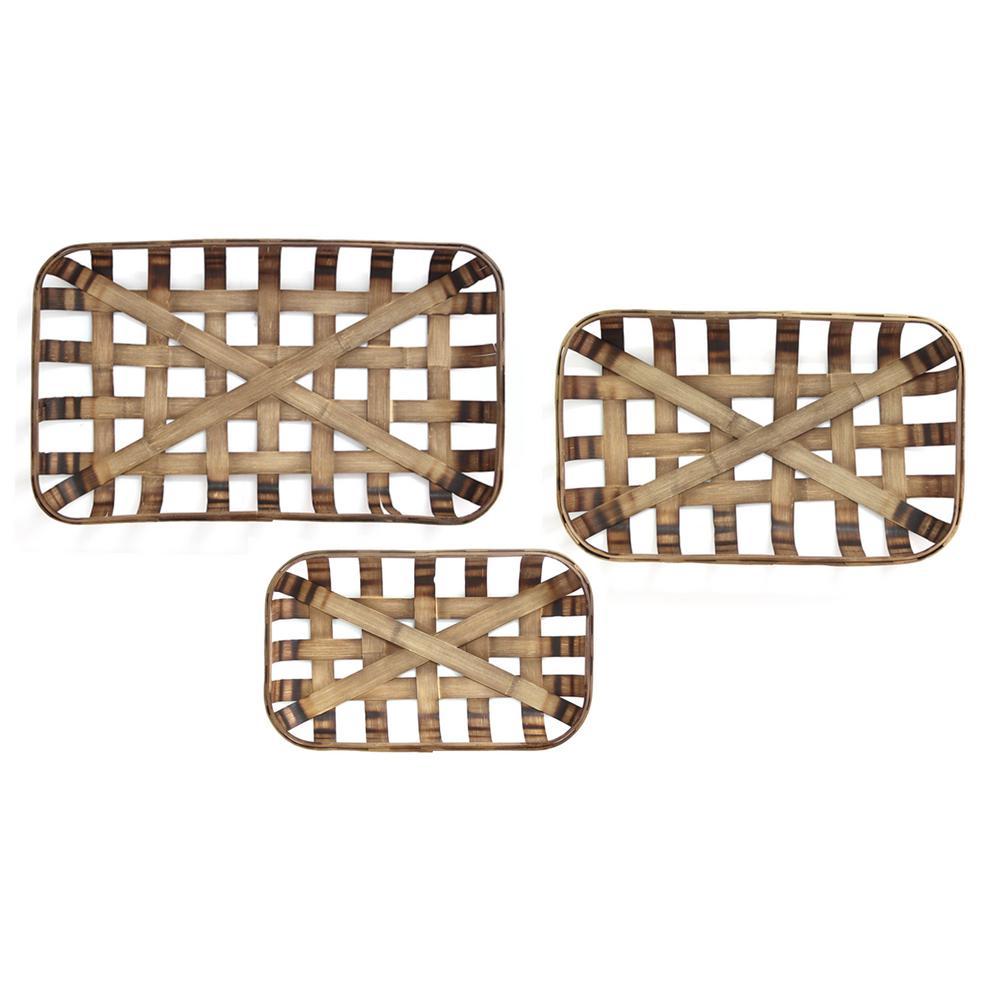 Tobacco Baskets (Set of 3)