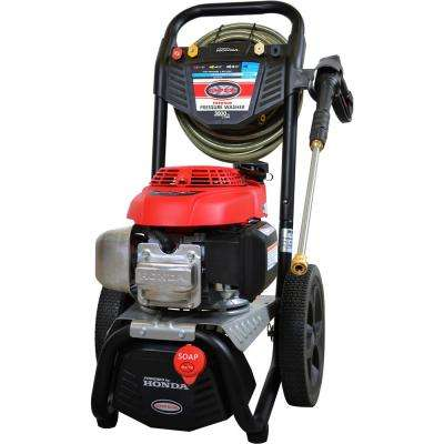 """MS60805-S 3000 PSI 2.4 GPM Gas Pressure Washer Powered by HONDA with Bonus 15"""" Surface Scrubber"""