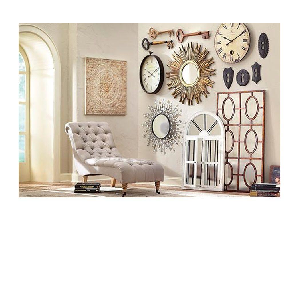 Carter Natural Linen Chaise Lounge