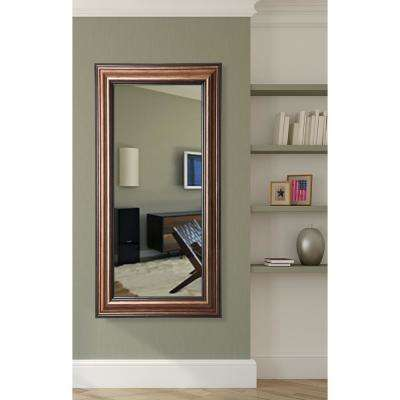 21 in. x 60 in. Canyon Bronze Rounded Beveled Slender Body Mirror