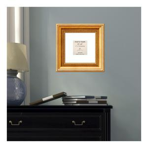 Amanti Art Townhouse 4 inch x 4 inch White Matted Gold Picture Frame by Amanti Art