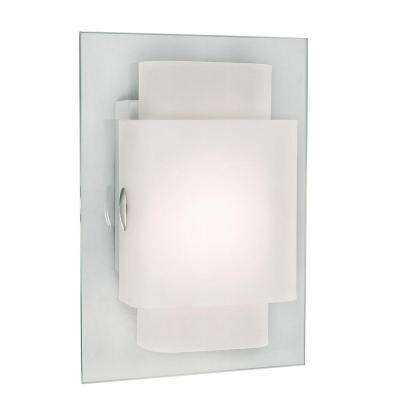 Stewart 1-Light Polished Chrome CFL Sconce