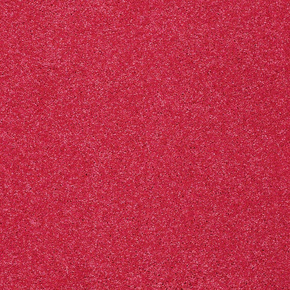 Carpet Sample - Joyful Whimsey - In Color Electric Pink 8 in. x 8 in.