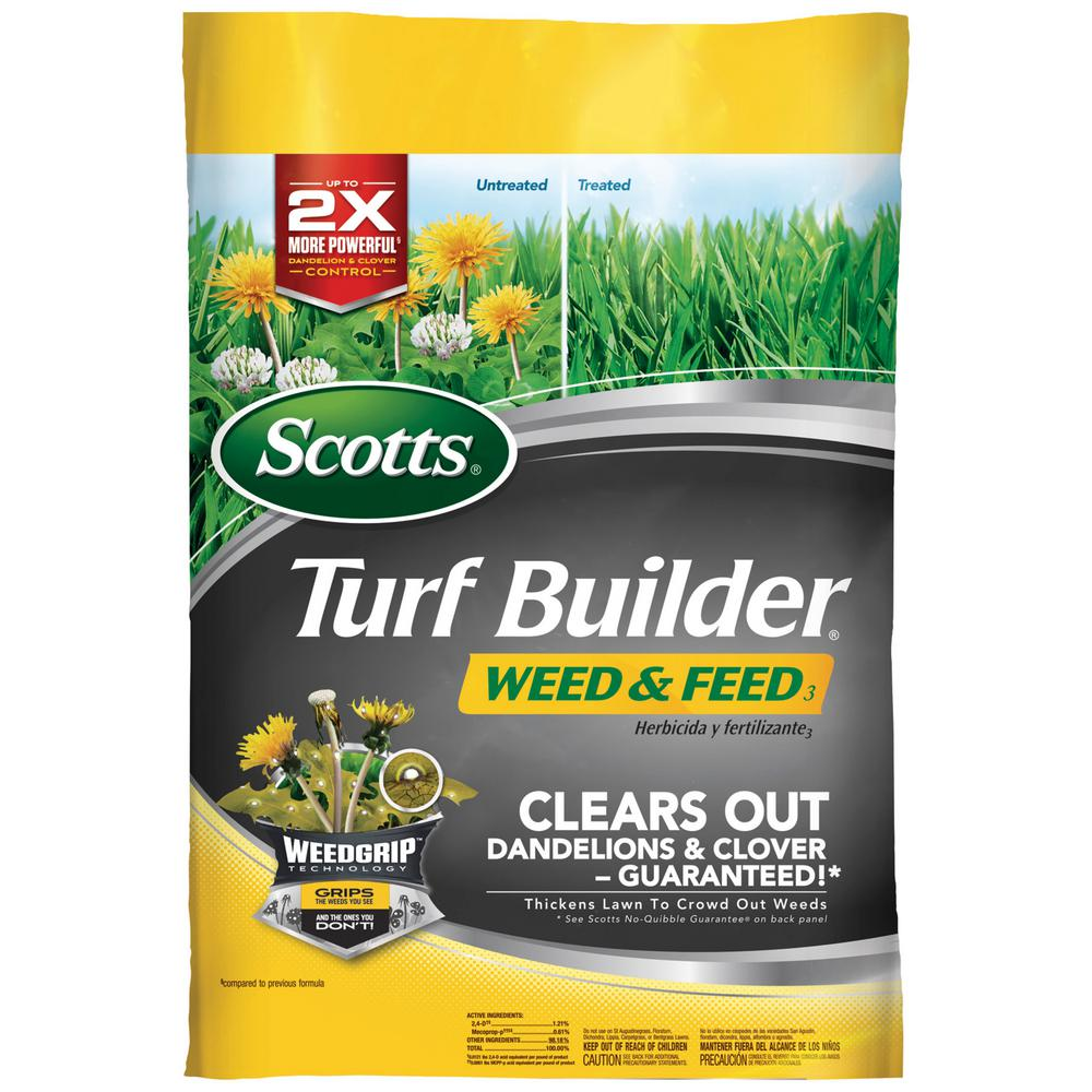 Turf Builder 15 lb. 5,000 sq. ft. Weed and Feed Lawn Fertilizer