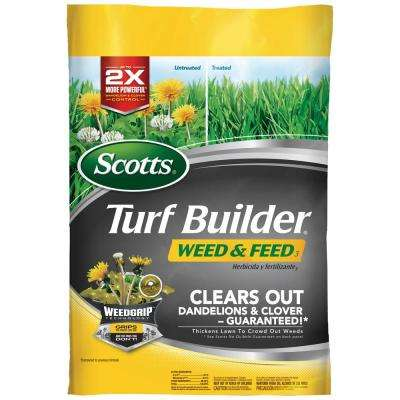 15 lb. 5 M Turf Builder Weed and Feed