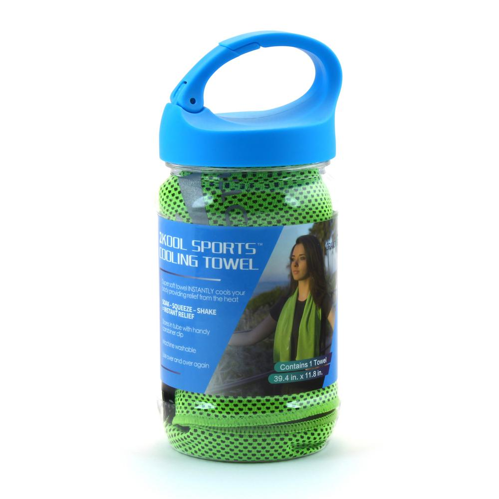 Green Sports Cooling Towel