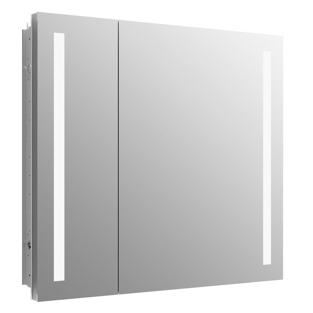 KOHLER Verdera 34 in. W x 30 in. H Surface-Mount Lighted Medicine Cabinet