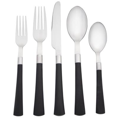 Colorwave 5-Piece Graphite Flatware Set (Service for 1)