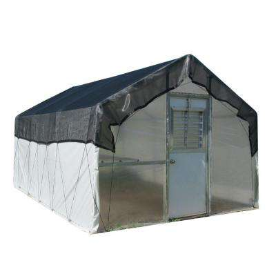 10 ft. x 16 ft. Carver Premium Commercial Greenhouse