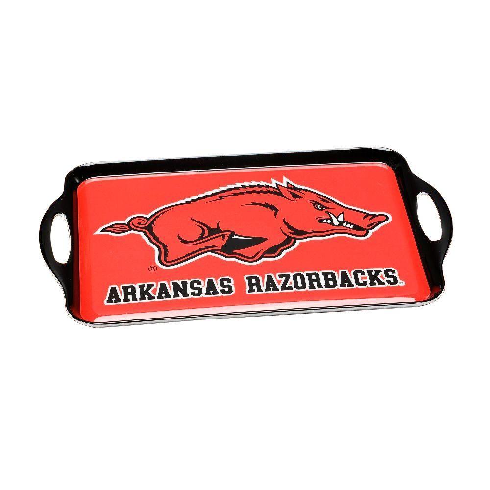 NCAA Arkansas Razorbacks Melamine Serving Tray