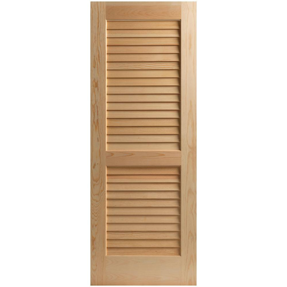 30 X 80 Solid Slab Doors Interior Closet Doors The Home Depot