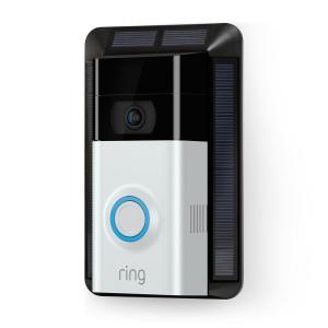 Ring Wireless Video Door Bell 2 with Solar Charger by Ring