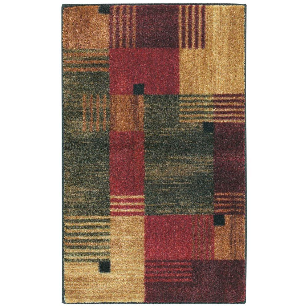 Mohawk Home Alliance Multi 1 ft. 8 in. x 2 ft. 10 in. Accent Rug