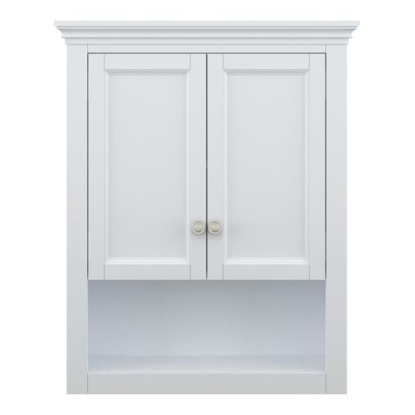 Lamport 26 in. W x 32 in. H Wall Cabinet in White