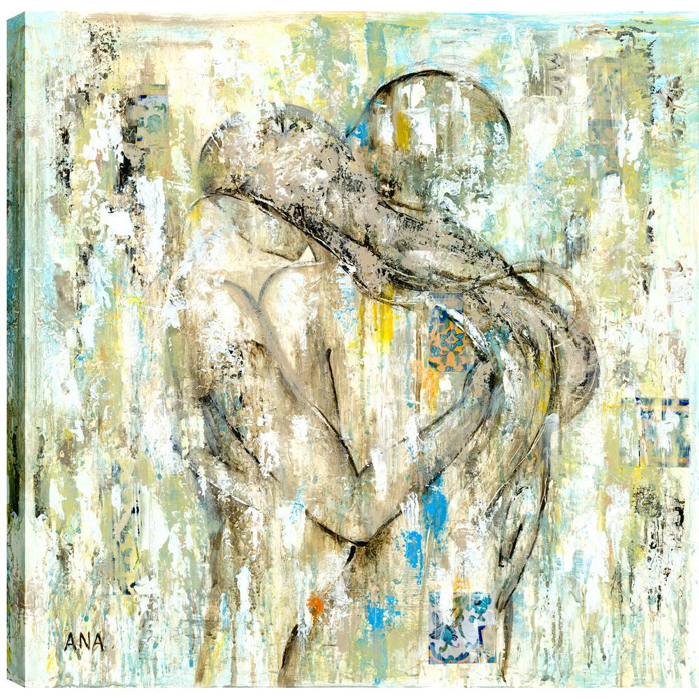 Love III, Figurative Art, Fresh Printed Canvas Wall Art Decor Gallery Wrapped Wall Art