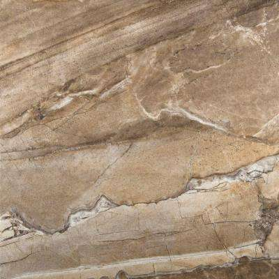 Eurasia Noce 13 in. x 13 in. Porcelain Floor and Wall Tile (17.7 sq. ft. / case)
