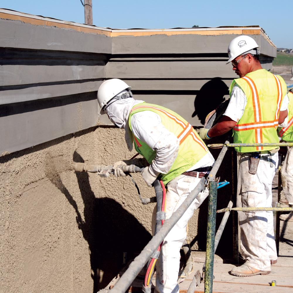 Rapid Set 50 Lb Stucco Mix 13010050 The Home Depot