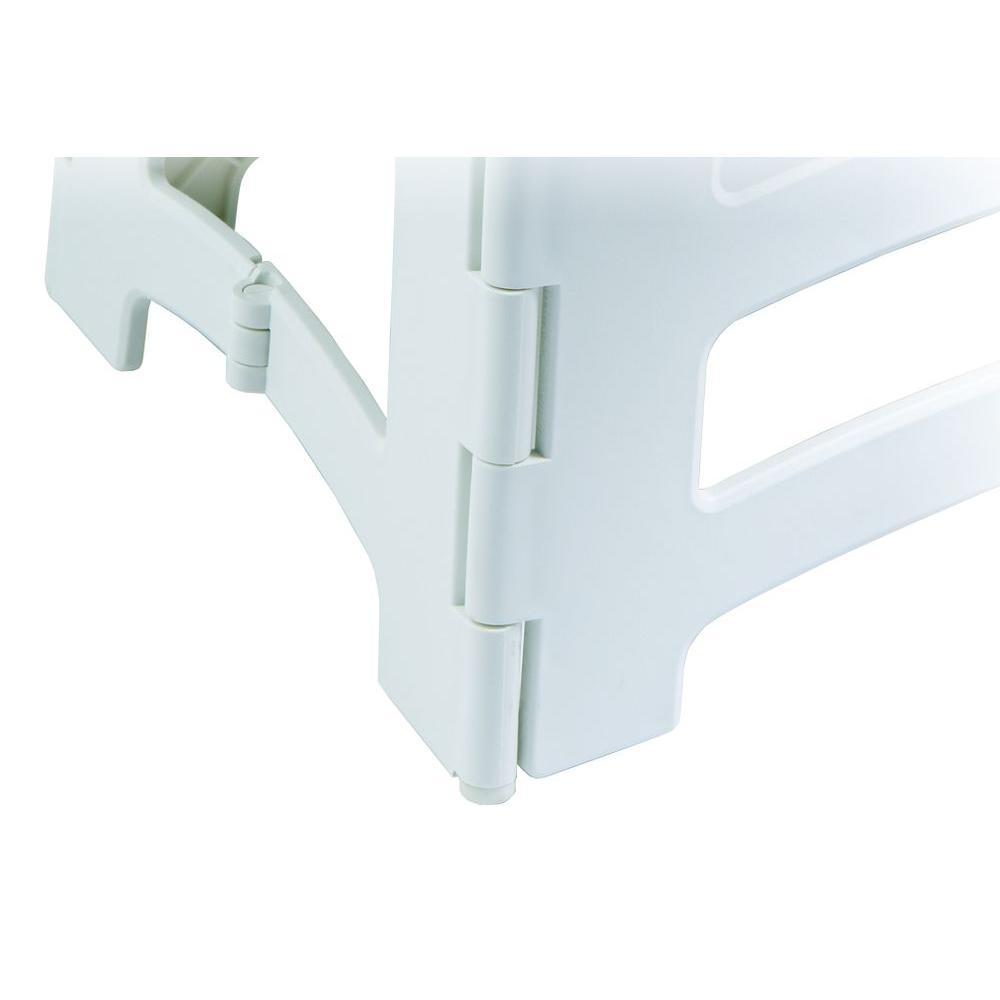 Amazing Rubbermaid 1 Step Plastic Step Stool With 300 Lbs Duty Rating Customarchery Wood Chair Design Ideas Customarcherynet