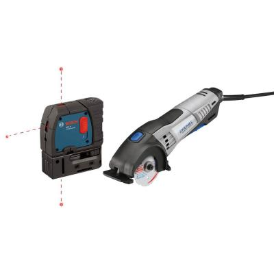 Dremel Circular Saw with 3-Point Alignment Laser (Certified Refurbished)
