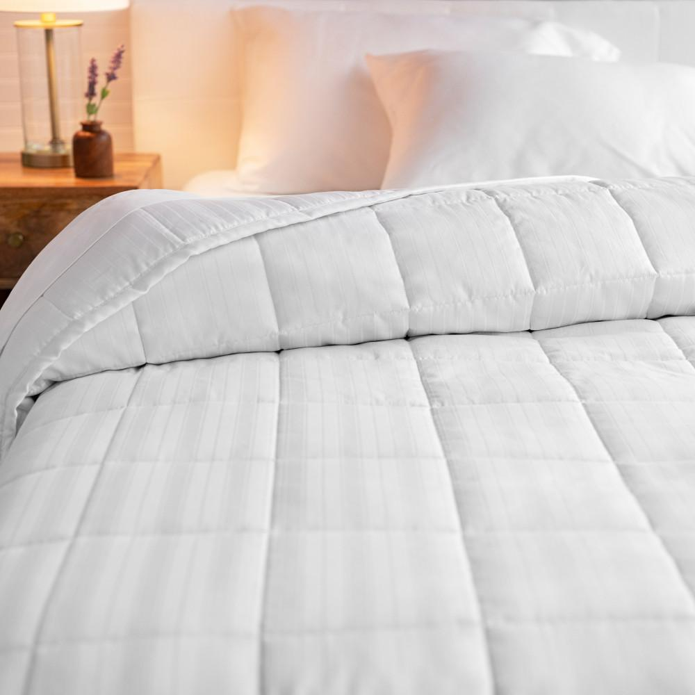 WELHOME The Alexander Cotton White King Quilt was $160.99 now $88.54 (45.0% off)