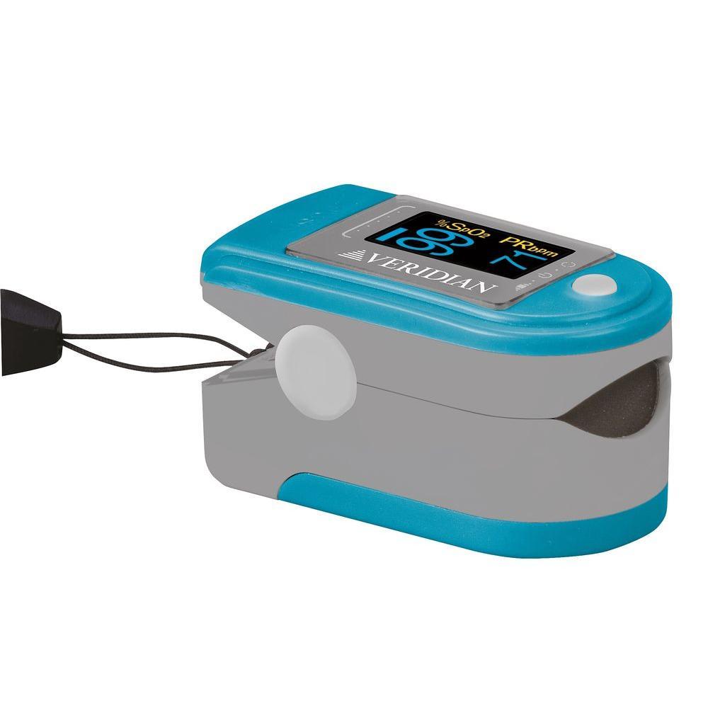 Deluxe Finger Pulse Oximeter Blood Oxygen Level Monitor