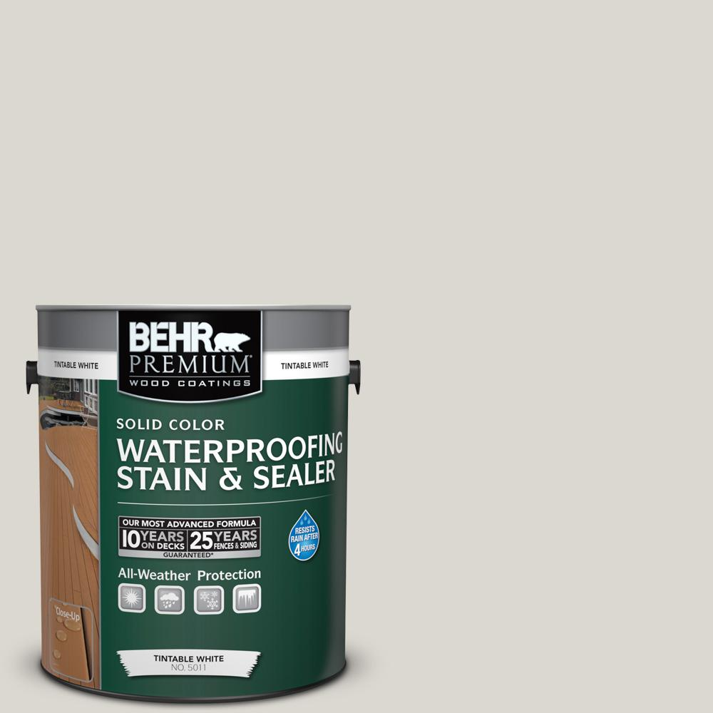 1 gal. #790C-2 Silver Drop Solid Waterproofing Stain and Sealer