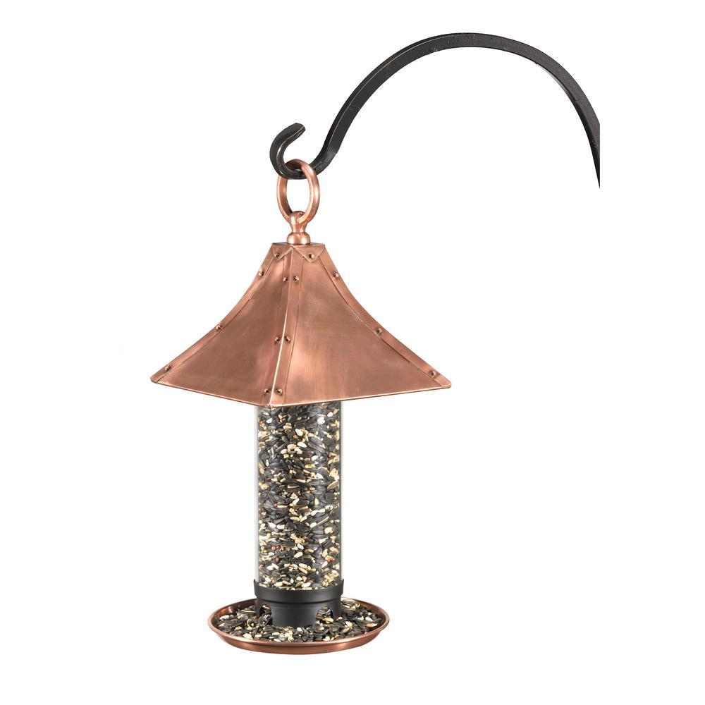Polished Copper Palazzo Bird Feeder