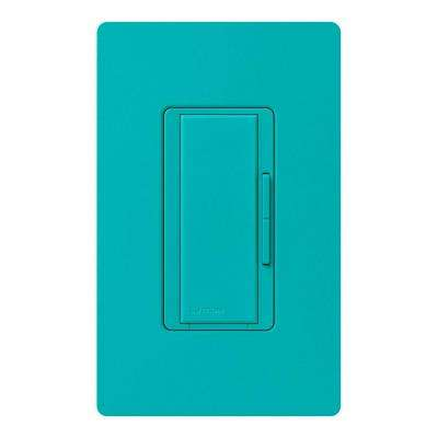 Maestro 600-Watt Multi-Location Accessory Dimmer - Turquoise