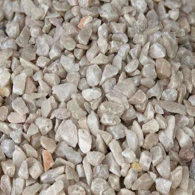 27.50 cu. ft. 3/16 in. 2200 lbs. White Washed Gravel