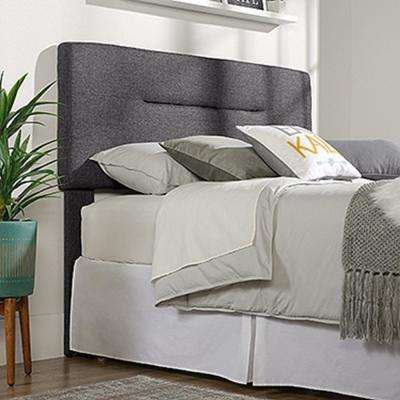 Harvey Park Charcoal Queen-Size Headboard