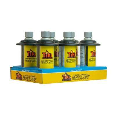 12 oz. Ready 2 Light Citronella Scented Torch Fuel (6-Pack)
