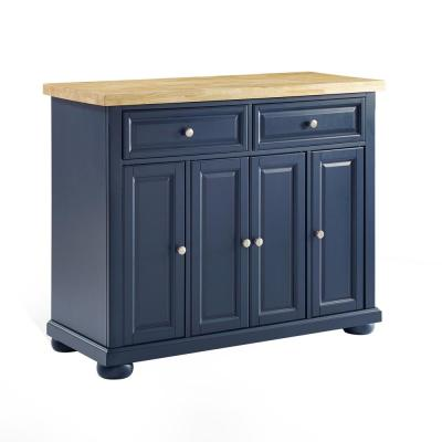 Madison Navy Kitchen Island