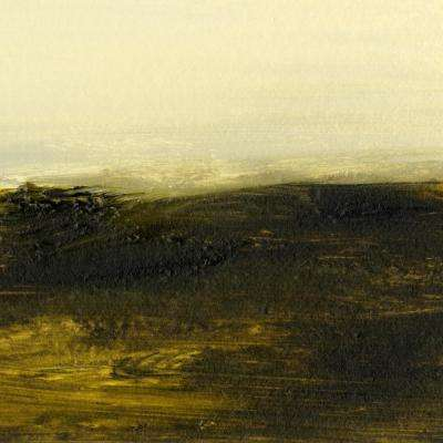 """84 in. x 84 in. """"Light on the Horizon II"""" by Sharon Gordon Canvas Wall Art"""