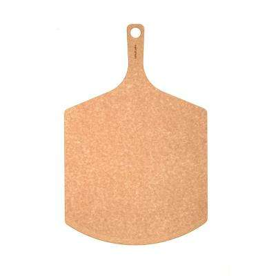 23 in. x 14 in. Wood Composite Pizza Peel with Beveled Edge