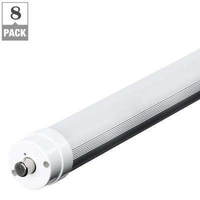 44-Watt 8 ft. T8/T12 Cool White Linear LED Light Bulb (8-Pack)