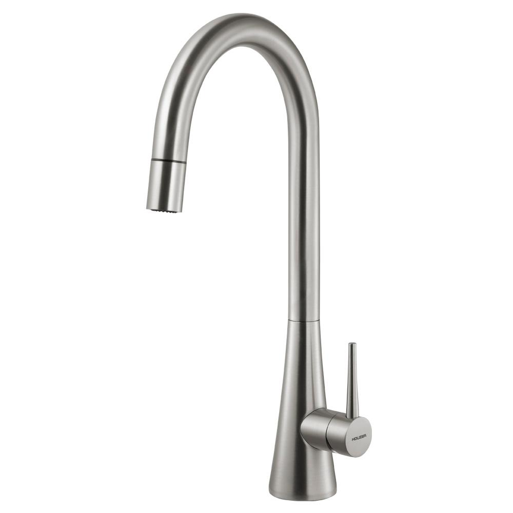 Cleanflo New Touch Single Handle Pull Down Sprayer Kitchen