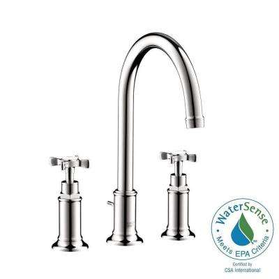 Axor Montreux 8 in. Widespread 2-Handle Bathroom Faucet in Chrome