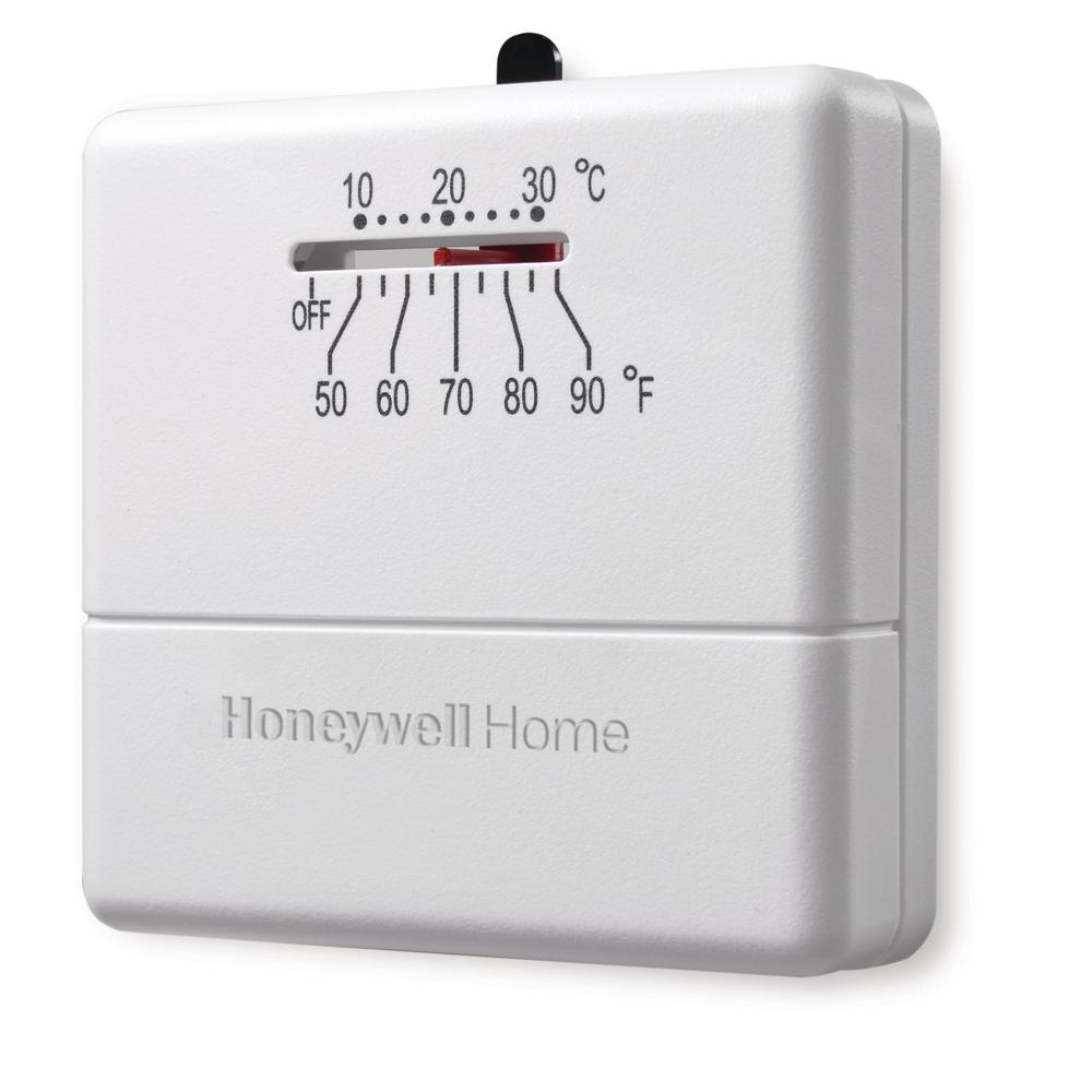 Honeywell Home Economy Millivolt Non-programmable Thermostat-ct33a