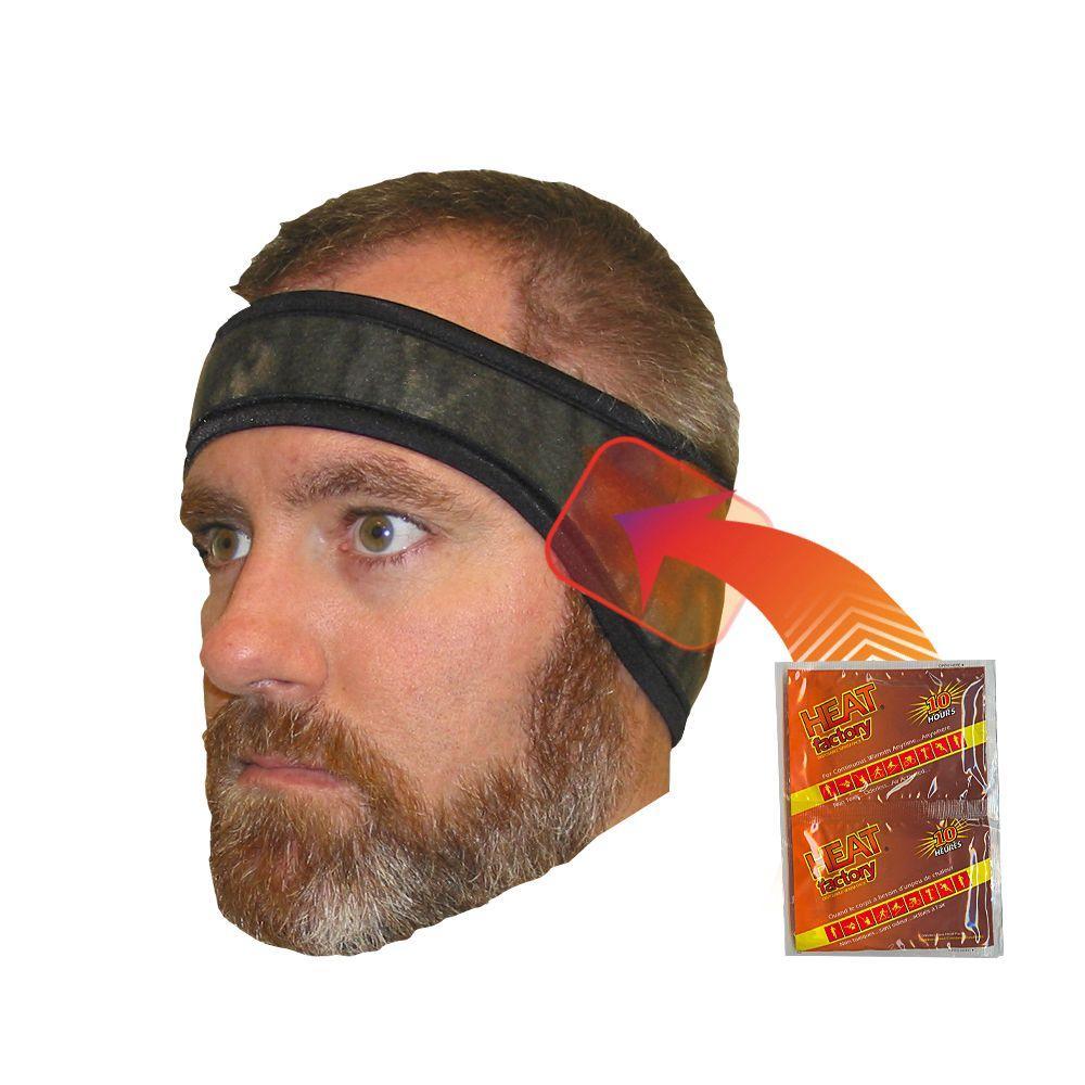 Heat Factory Headband-Mossy Oak Breakup