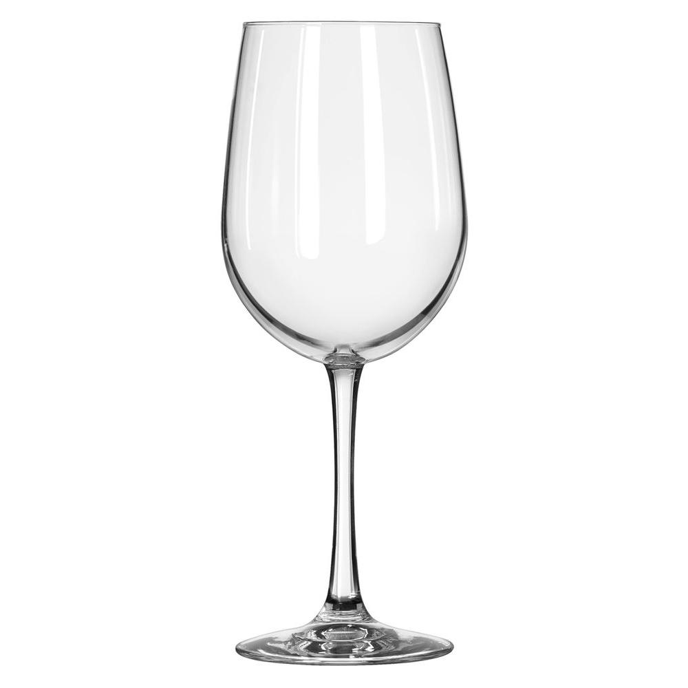 Libbey Vina 18.5 oz. White Wine Glass in Clear (Set of 12)