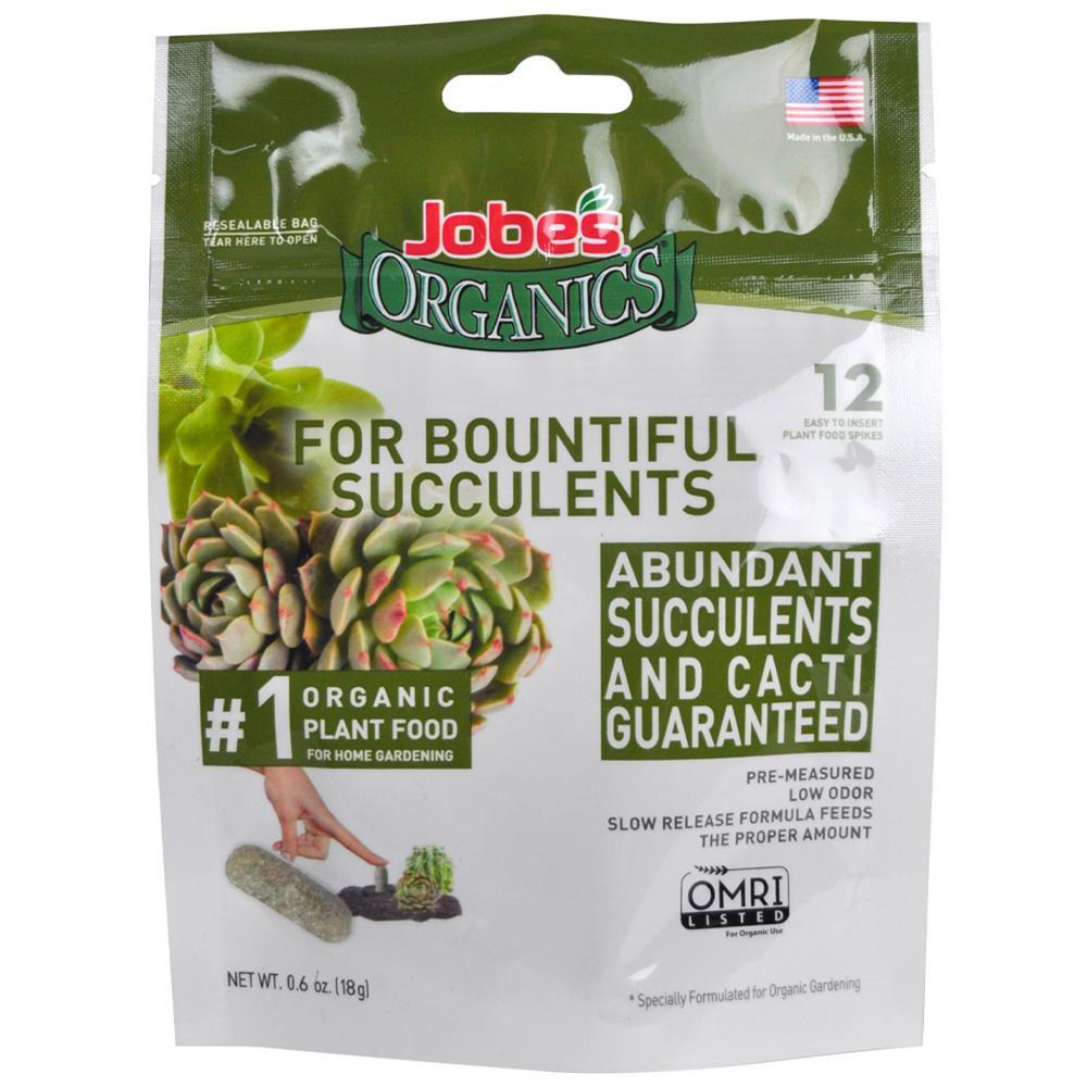 Jobe S Organics 13lb Organic Succulent Plant Food Fertilizer