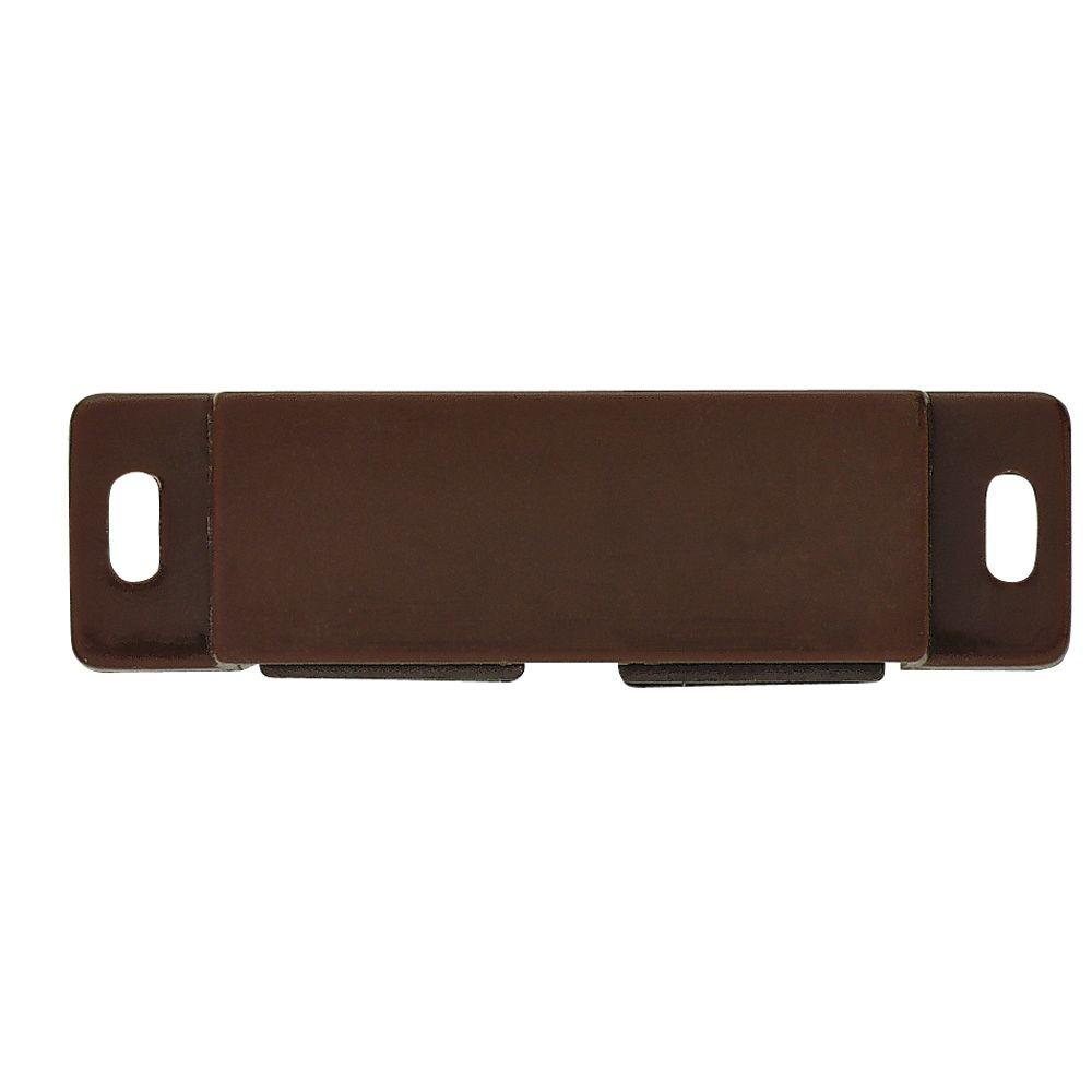 Liberty 2-1/2 in. Brown Double Magnetic Door Catch