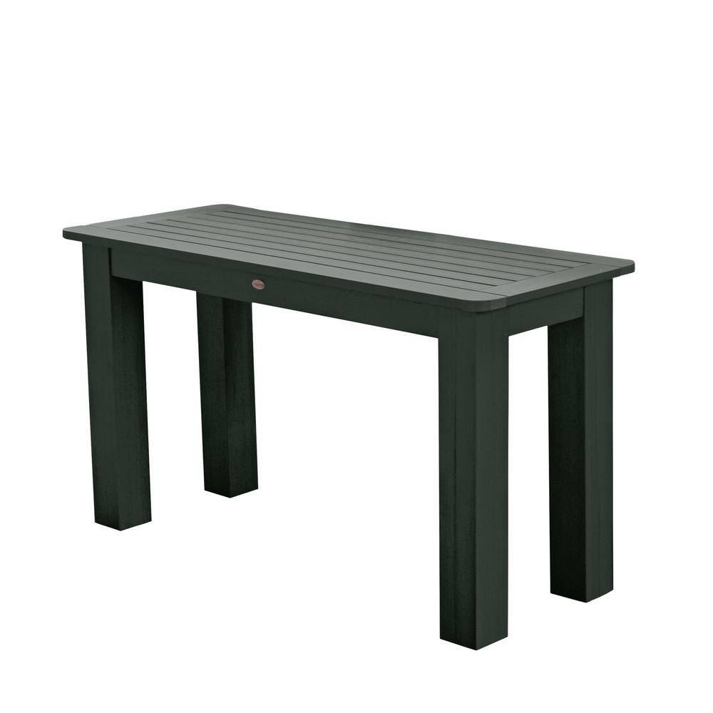 Terrific Highwood Charleston Green Rectangular Recycled Plastic Outdoor Sideboard Dining Table Dailytribune Chair Design For Home Dailytribuneorg