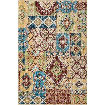 Aria Sunset 4 ft. x 6 ft. Area Rug
