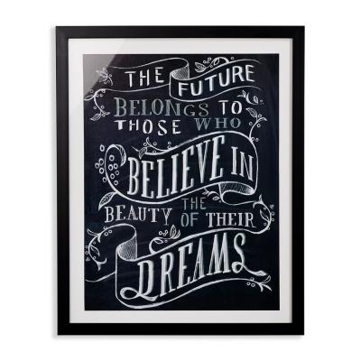 Believe You Can Framed Print Wall Art